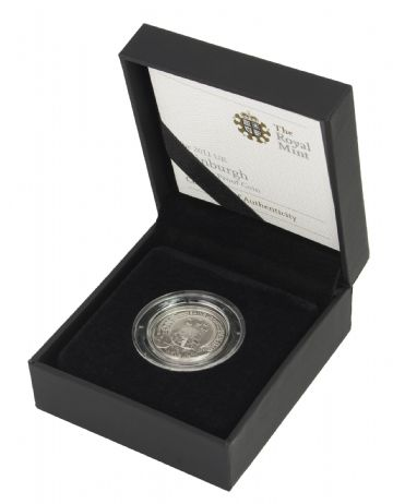 2011 Silver Proof One Pound Coin - Edinburgh